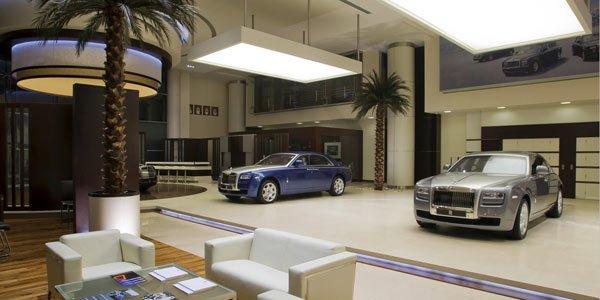 La plus grande concession Rolls-Royce
