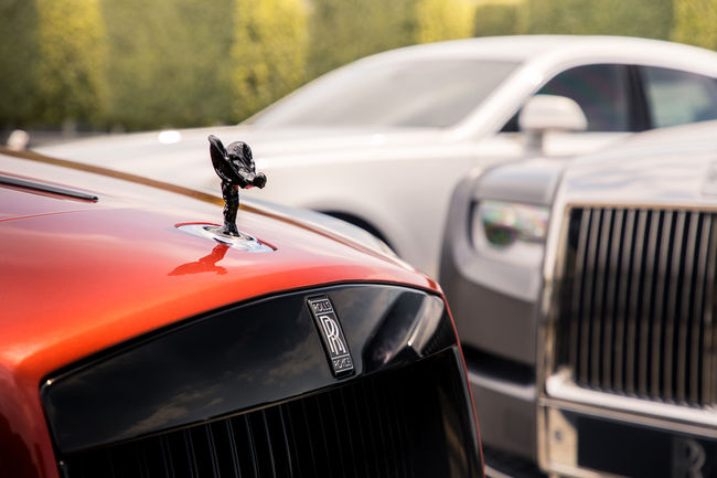 Rolls-Royce au grand complet à Goodwood