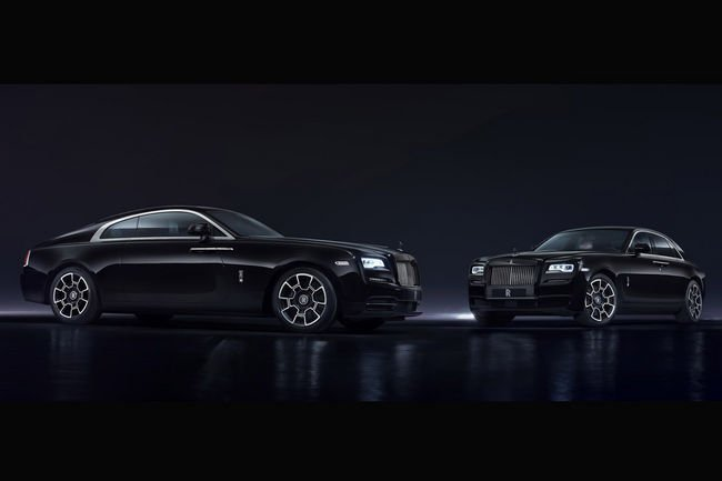 Rolls-Royce Black Badge Edition