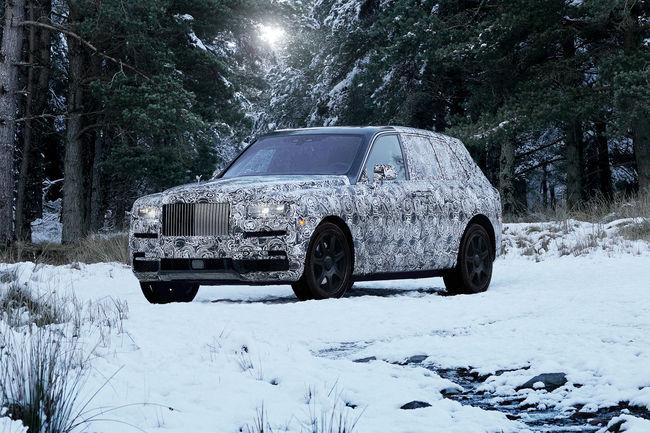 Rolls-Royce Cullinan : grand luxe