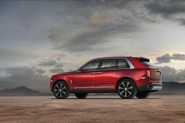 Rolls-Royce : les bonnes ventes du SUV Cullinan