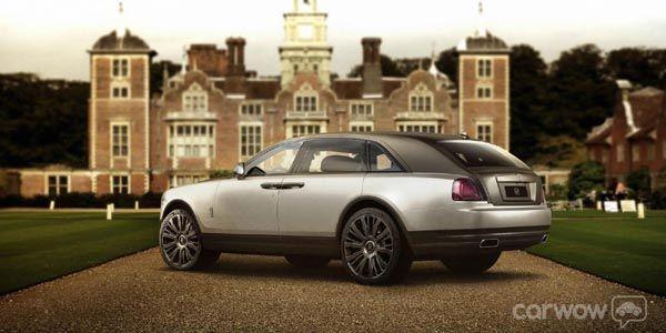 SUV Rolls-Royce Cullinan : comme ça ?