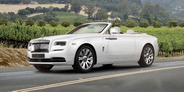 La première Rolls-Royce Dawn US vendue 750 000 $ aux enchères