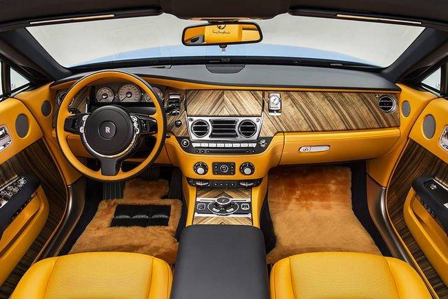 Une nouvelle déclinaison bespoke de la Rolls-Royce Dawn