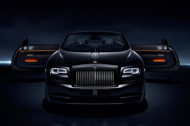 La Rolls-Royce Dawn Black Badge en approche