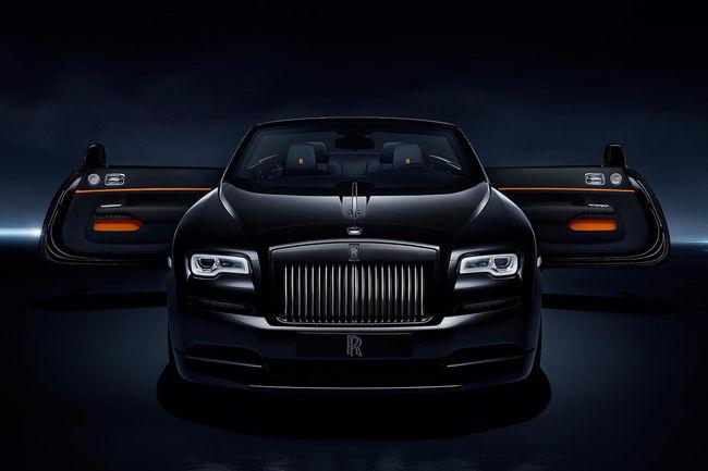 La Rolls-Royce Dawn Black Badge en approche