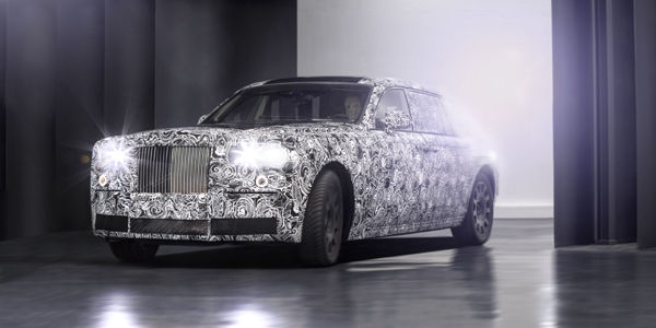 Rolls-Royce teste son nouveau châssis
