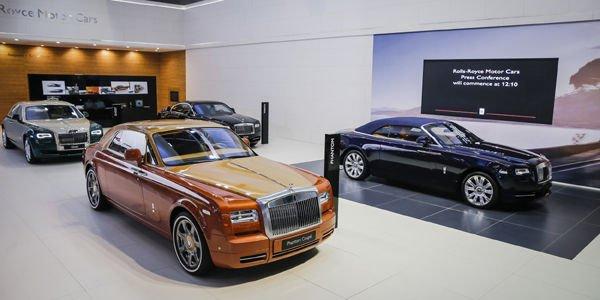 Éditions spéciales et premières pour Rolls-Royce à Dubaï