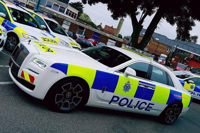 Rolls-Royce soutient la Police du Sussex