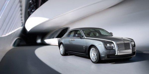 La Rolls-Royce Ghost de série se dévoile