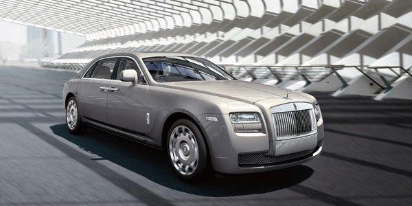 Rolls-Royce Ghost allongée à Shanghaï