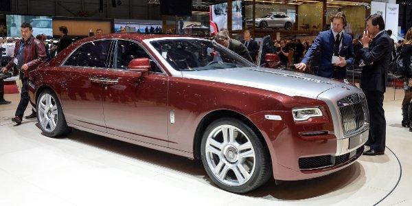 Genève 2014 : Rolls-Royce Ghost série 2