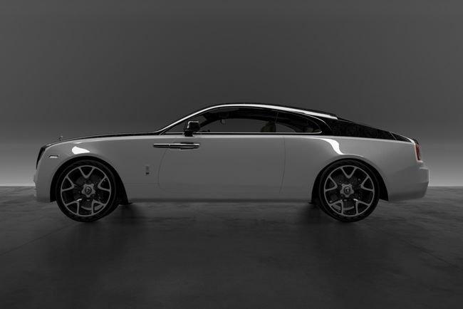 Rolls-Royce : un pack carbone signé Vitesse AuDessus et Bengala