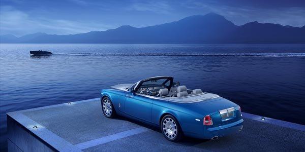Rolls-Royce présente sa Phantom Drophead Waterspeed
