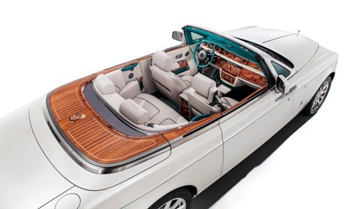 Rolls-Royce Maharaja Phantom Drophead Coupé pour Dubaï