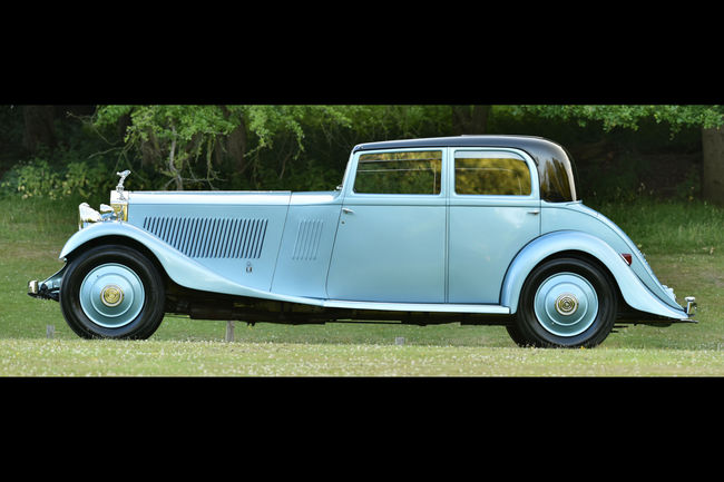 La Rolls-Royce Phantom II de Sir Malcolm Campbell s'expose