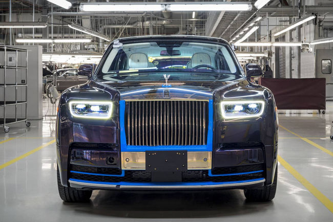 Enchères : 780 000 dollars pour la première Rolls-Royce Phantom 2018