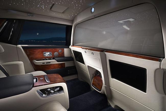 Rolls-Royce intègre une suite privée à sa Phantom