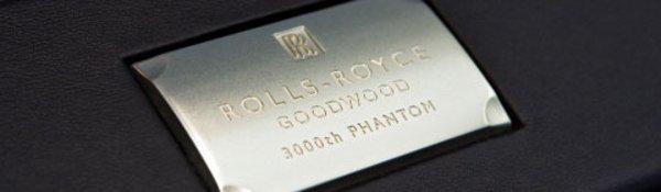 Rolls-Royce: déjà la 3000e Phantom !