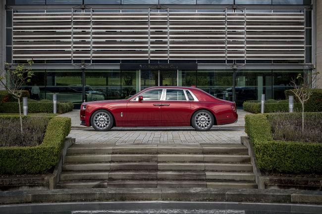 Rolls-Royce Phantom Bespoke Red : pour la bonne cause