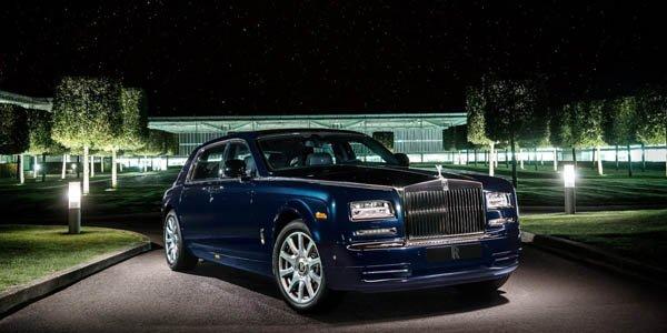 Rolls Phantom Celestial : astronomique !