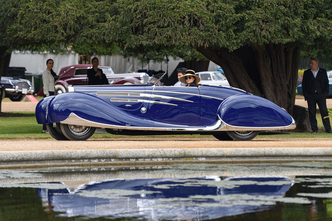 Concours d'élégance : le Best of Show pour une Rolls-Royce Silver Ghost