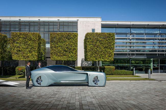 Le concept Rolls-Royce 103EX de retour à Goodwood