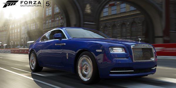La Rolls Royce Wraith arrive dans Forza 5