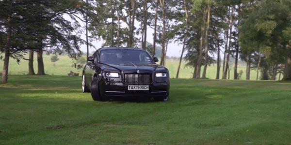 TaxTheRich s'amuse avec la Rolls-Royce Wraith