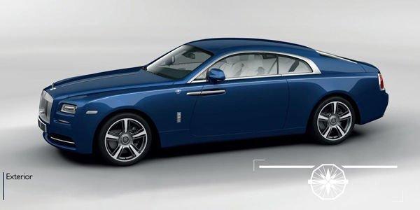 Éditions spéciales Rolls-Royce Wraith Porto Cervo