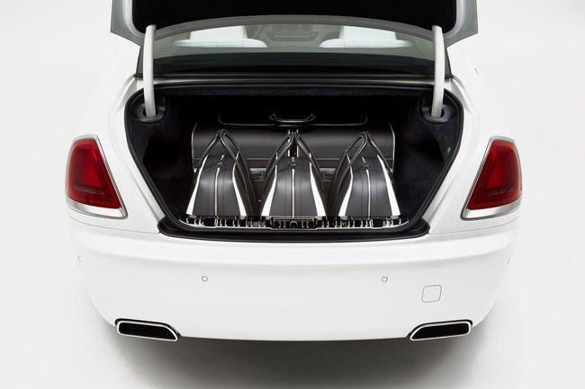 Une nouvelle collection de bagages pour la Rolls-Royce Wraith