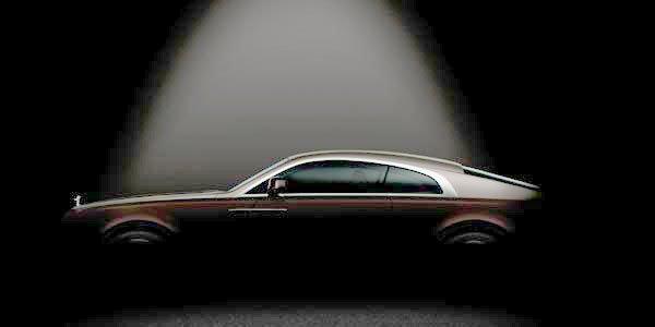 Première image de la Rolls-Royce Wraith