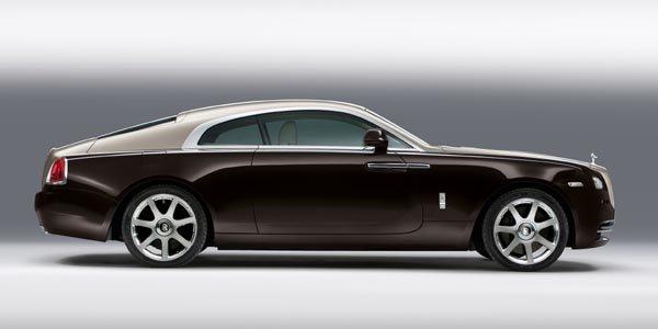 Rolls Royce Wraith 624 ch sous le capot