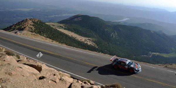 Romain Dumas à Pikes Peak avec une Norma