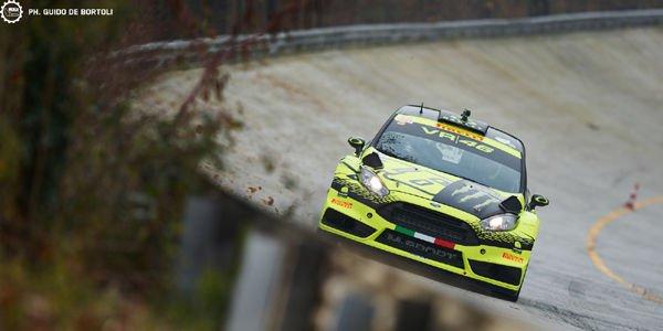 Valentino Rossi s'impose au Monza Rally