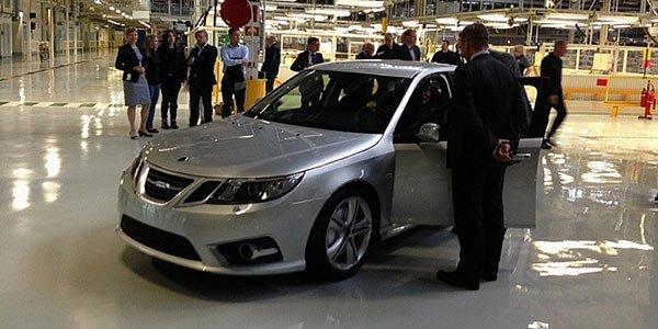Premier pas vers la renaissance de Saab