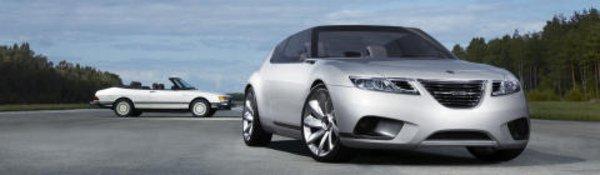 Saab 9-X Air : la même... en cabriolet !