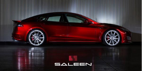 FourSixteen : Saleen revisite la Model S