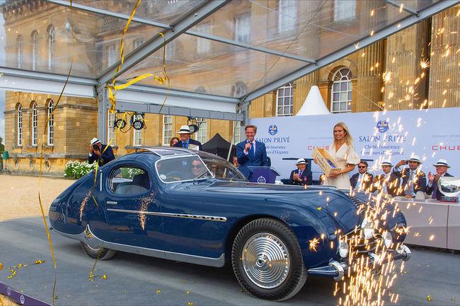 Salon Privé : le Best of Show pour une Talbot-Lago