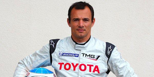 Stéphane Sarrazin avec Toyota au Mans
