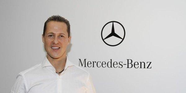 Schumacher sur une F1 au Nüburgring