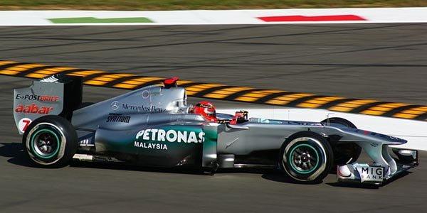 Schumacher en F1 sur le Nürburgring