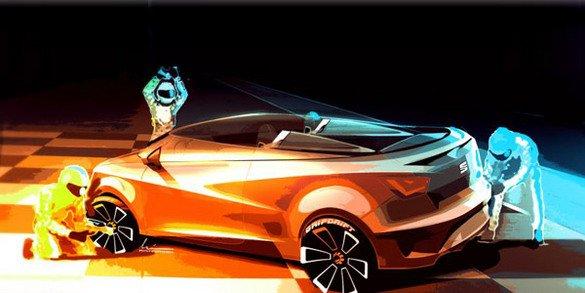 Seat fête son Ibiza avec un concept Cupster