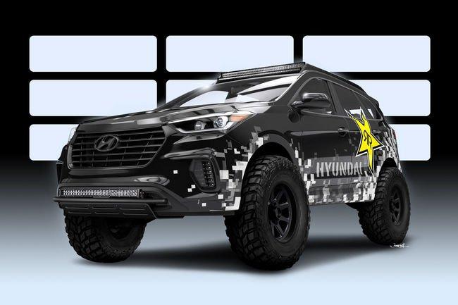 Hyundai fait le plein pour le SEMA Show