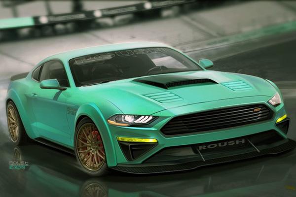 SEMA : plusieurs Ford Mustang au menu chez Ford