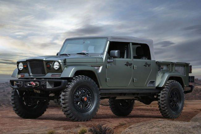 Jeep dévoile sept nouveaux concept-cars