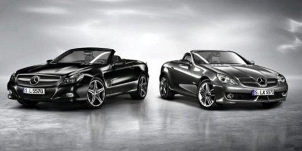 Deux séries spéciales pour Mercedes
