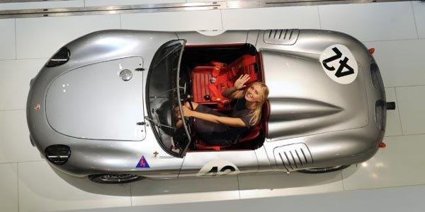 Maria Sharapova ambassadrice Porsche
