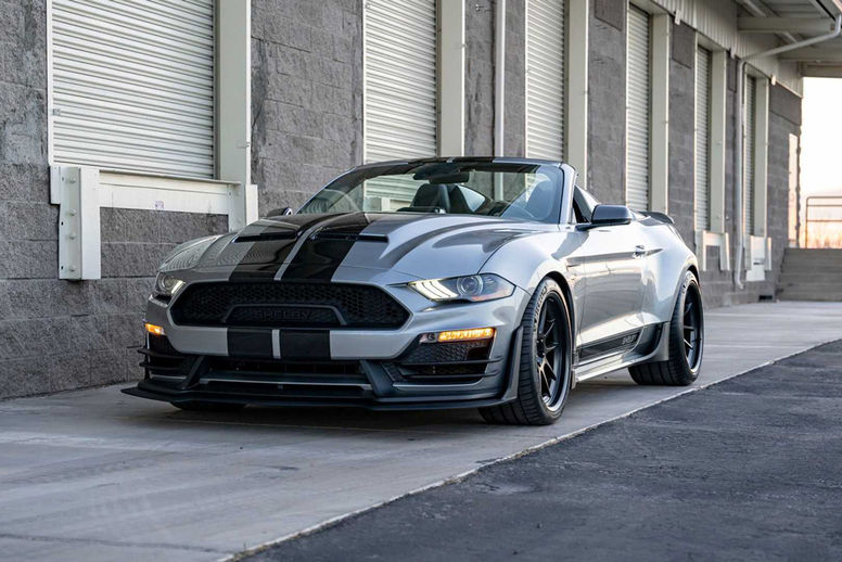Une version Speedster pour la Mustang Shelby Super Snake