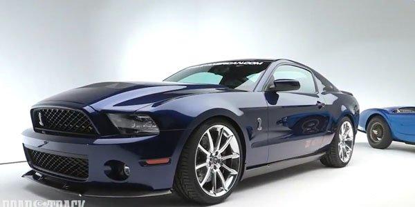 La Shelby 1000 s'exprime en vidéo